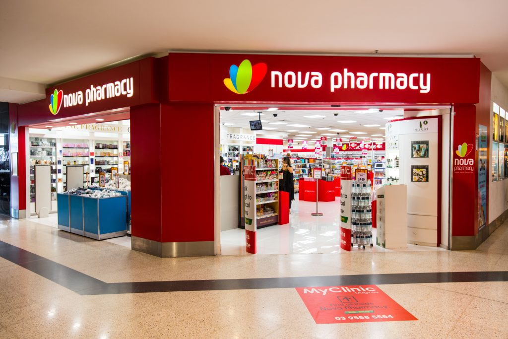 Nova Pharmacy Waverley Gardens Shop Front