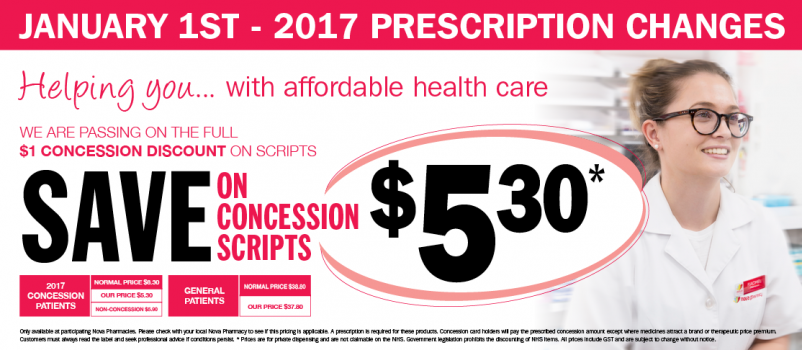 NEW Concession Discount on Scripts!