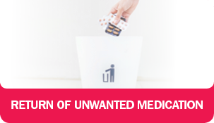 Return of Unwanted Medication