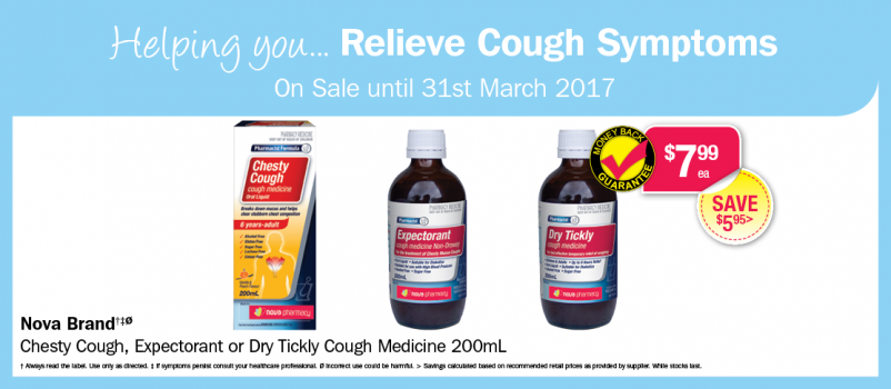 Helping you... Relieve Cough Symptoms