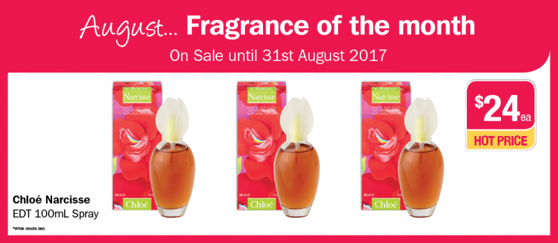 August Fragrance of the Month