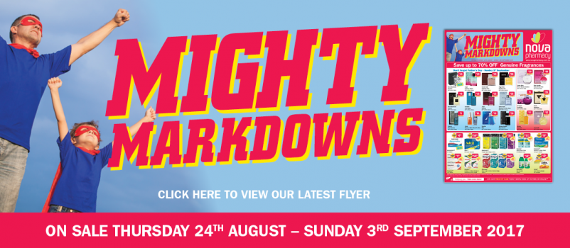 Mighty Markdowns August Flyer