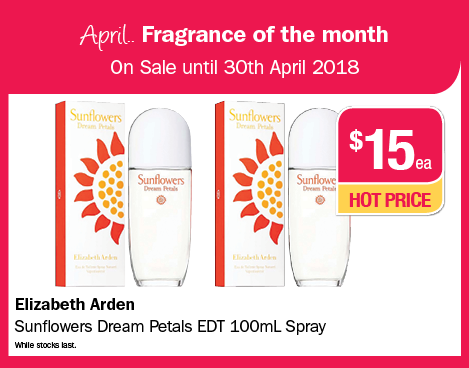 April Fragrance of the Month