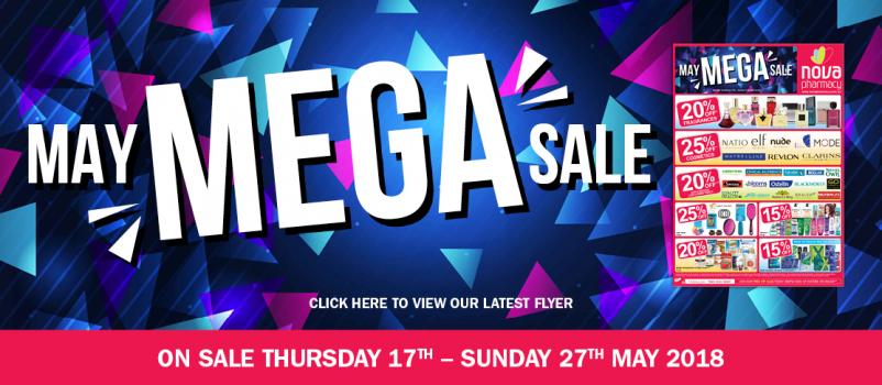 May Mega Sale - On Sale Now