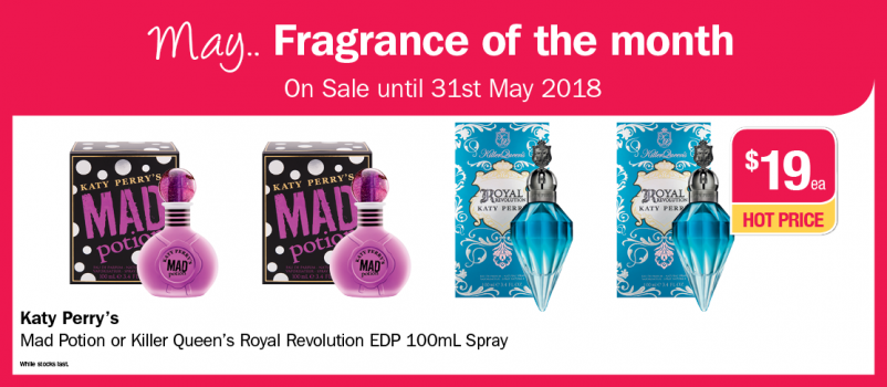 May Fragrance of the Month 2018