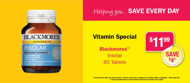 Helping you...Vitamin Specials