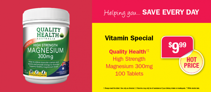 Helping you...Vitamin Specials