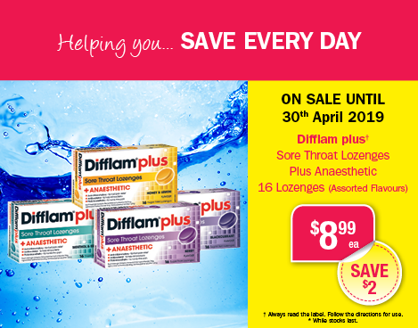 April Difflam Offer