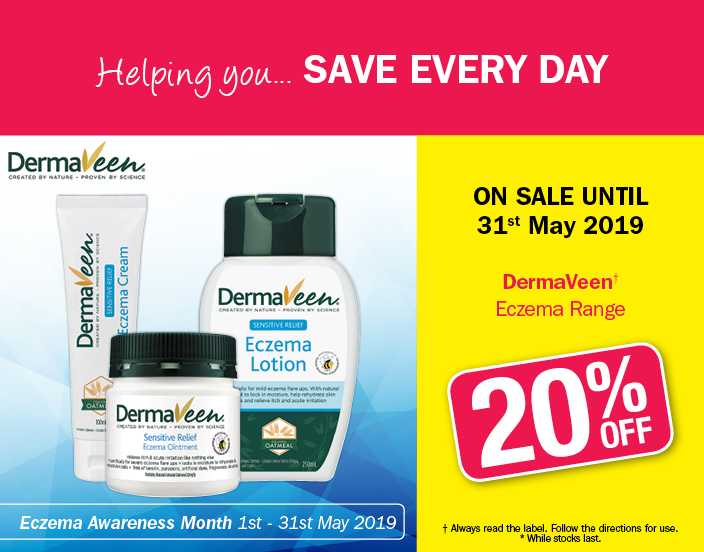 May Dermaveen 20% OFF Eczema