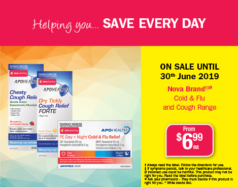 June Nova Brand Cold & Flu