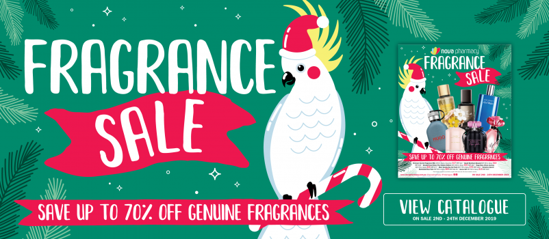 Nova Pharmacy's Christmas Fragrance Sale!