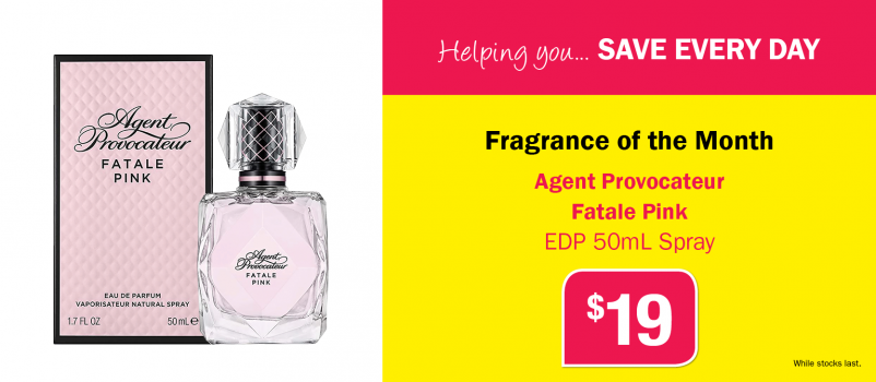Agent Provocateur Fatale Pink EDP 50mL Spray Only $19