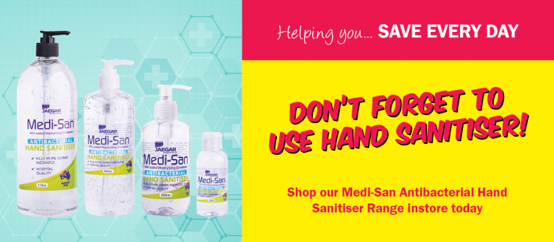 Don't Forget to use Hand Sanitiser